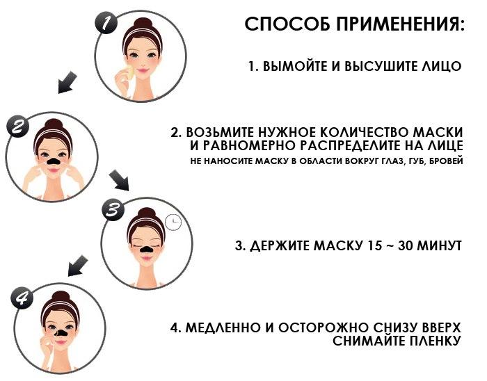 маска очищения черных точек